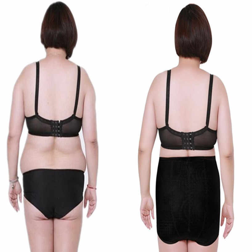 0ae349fe55cc9 ... High Waist Plus Big Size Women s Tummy shaper Panties Briefs body  Slimming Shorts Belly girdle Slim ...