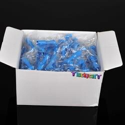 100 шт. синяя Стоматологическая Одноразовые Pro угол Prophy углы чашки новый