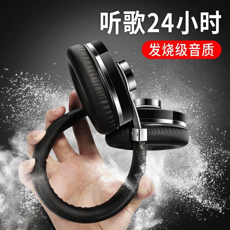 T9 casque réduction du bruit Bluetooth casque binaural sans fil ordinateur jeu câble téléphone portable version musique tout compris oreille - 3