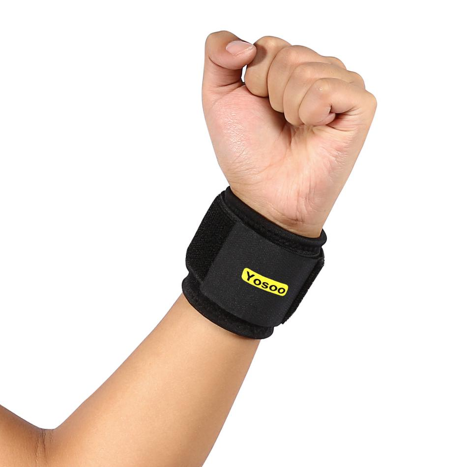 Objective Adjustable Wristband Elastic Wrist Wraps Bandages Wrist Guard Band Brace Support Carpal Tunnel Sprains Strain Gym Strap #es Matching In Colour Sports & Entertainment
