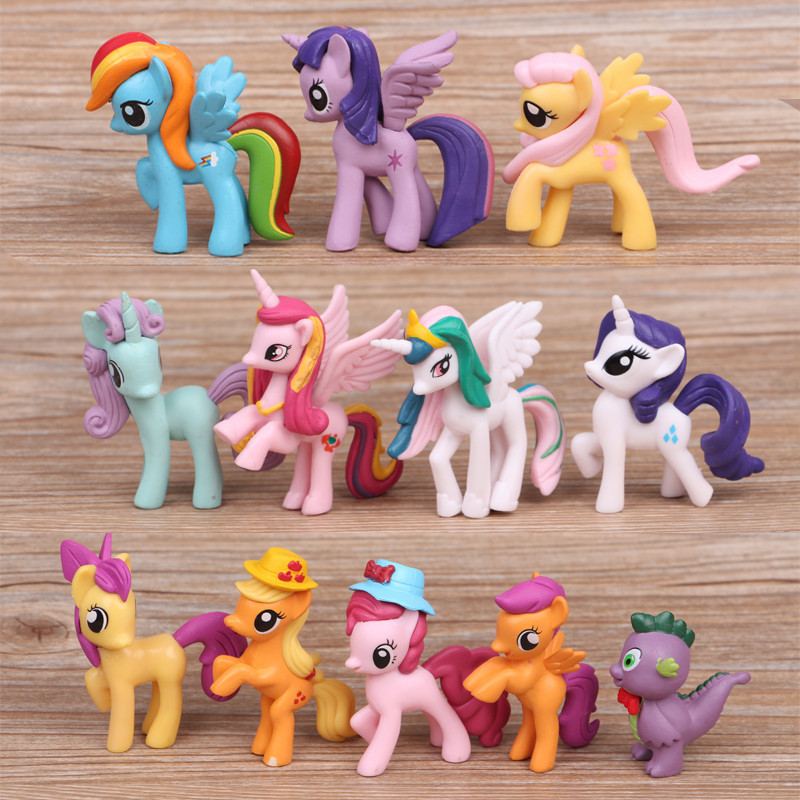 Horse Toys For Girls : Pcs set cm pvc horse practical jokes toy earth