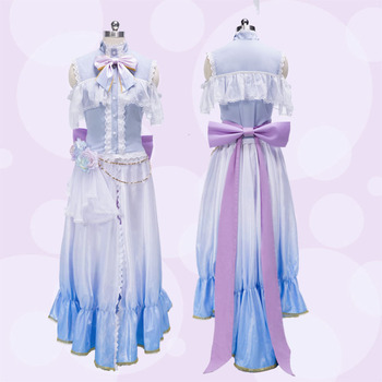 Love Live! sonoda Umi White Valentine's Day Dress Cosplay Costume Halloween costume for adult