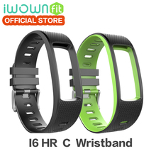 100 Original IWOWNfit I6 HR C Wristband iwown Strap Silicone Replacement Accessories for IWOWN I6 HR