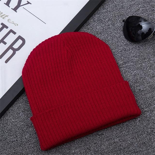 Beanie Wtaps Winter skate hats for women men knit cap beanies Brand  skullies fashion hip hop bone bonnet cappelli A-252 ec9cac14c4d