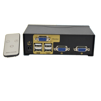 2 port usb kvm switch vga splitter schalter adapter drucker verbinden tastatur maus 2 computer verwenden 1 monitor with kabel usb vga  kvm switch 2 Port  VGA SVGA Switch Adapter Connect Printer Keyboard Mouse 2 Computer Use 1 Monitor