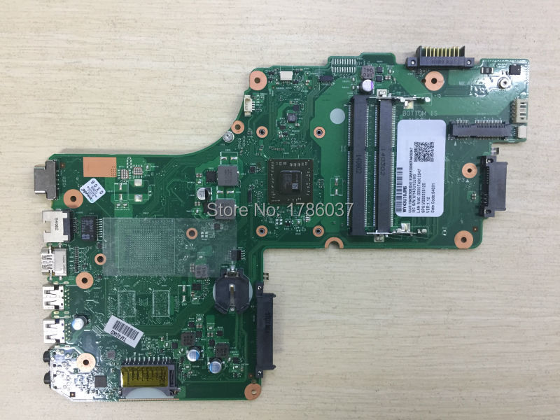 Free Shipping V000325120 for Toshiba Satellite C50D C55D series Motherboard With E1-2100 CPU .All functions 100% fully Tested !