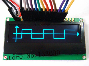 2.23 inch 128X32 oled display screen oled module,Parallel /I2C/ 4-wire SPI Interface,blue on black parallel