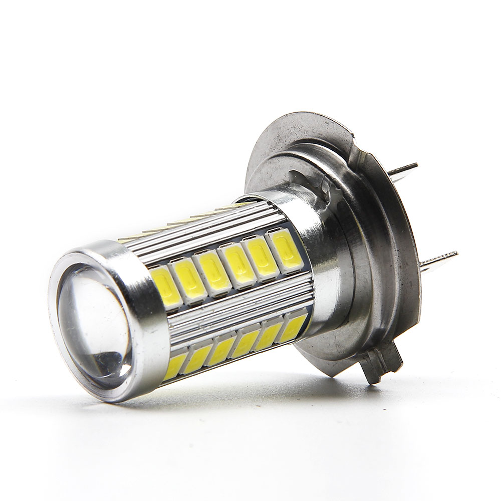 цены  1pcs H7 led High Power Car LED Light 5630 Chip 33 SMD Fog Light Headlight Driving DRL Car Light Auto Lamp Bulb Xenon White