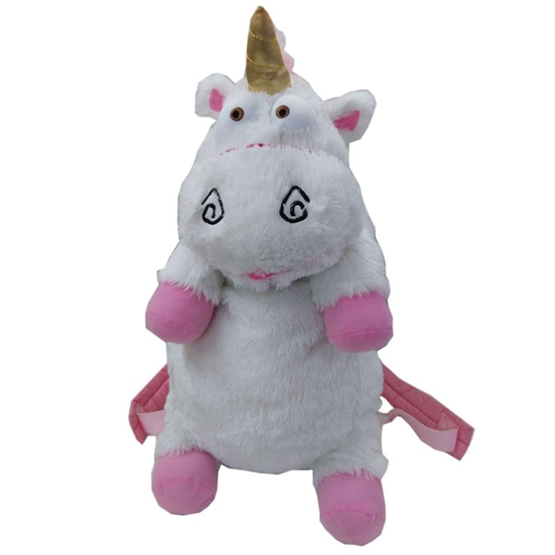50cm Despicable Me Unicorn Bag Plush Unicorns Toy Backpack Toys For