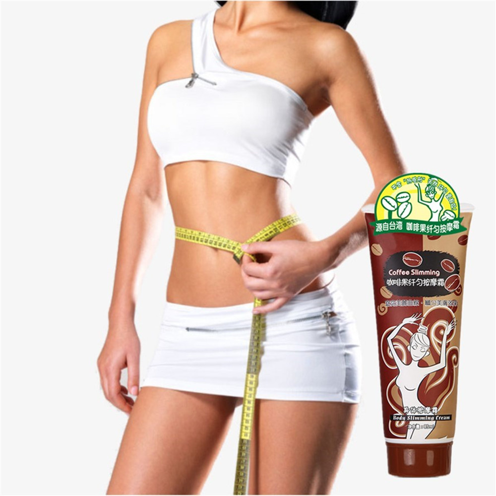 85ml/tube Coffee Essential oil Weight loss Detox Body Wraps Body fat Burner It Works Cellulite,Tone,Tighten Firming Slimming