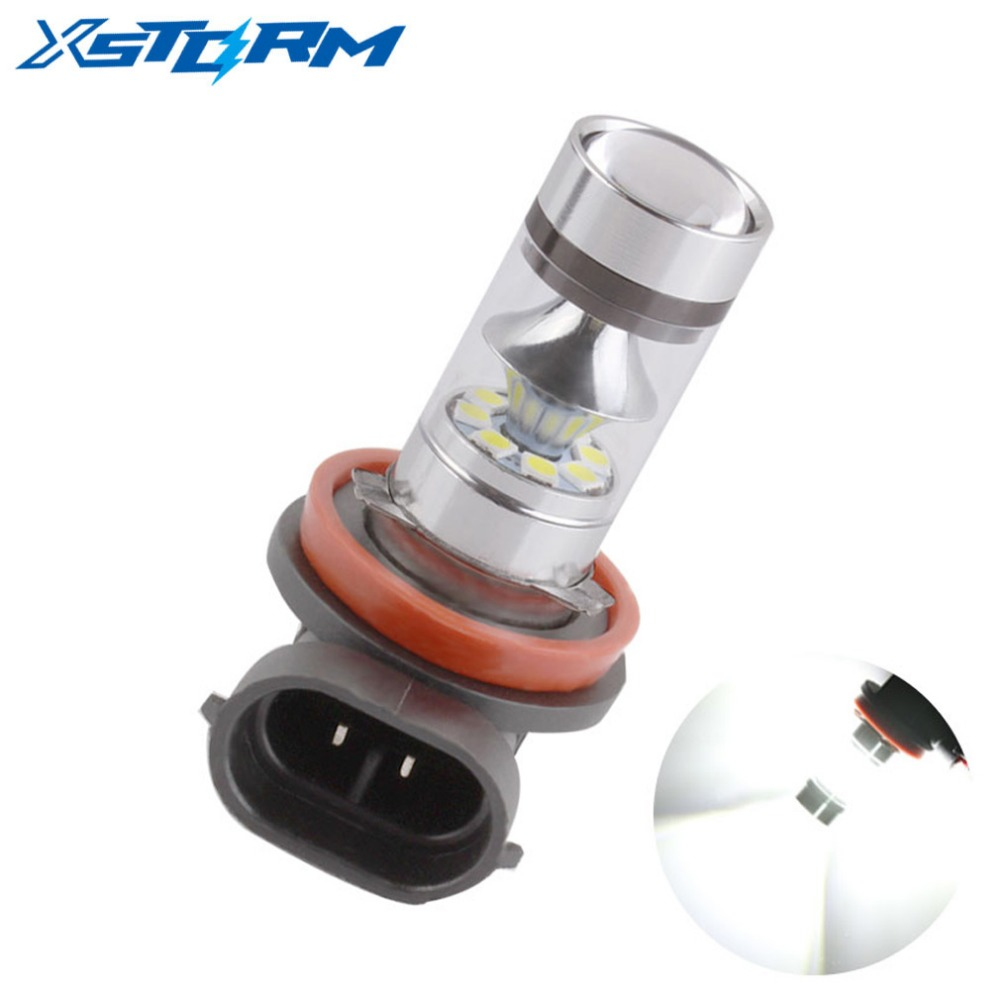 H8 H11 LED Bulbs Super Bright Fog Lights DRL Driving Tail Lamp Car Light Source parking 1250LM 12V - 24V auto 6000K White led h16 eu ps19w 5202 bulbs for car daytime running lights lamp auto source parking 6000k white 12v 2 pieces saarmat