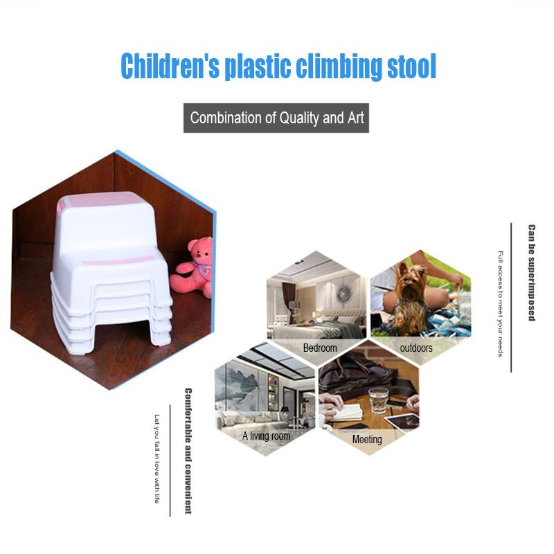 2 Step Stool Toddler Kids Stool Toilet Potty Training Slip Resistant for Bathroom Kitchen J2Y