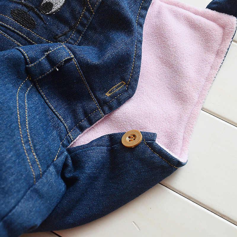 Yürümeye başlayan bebek Tulum Pantolon Pantolon Bebek Denim Tulum Bebe Kız Erkek Kot Pantolon Yürümeye Başlayan Pantolon Bahar Auatumn