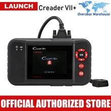 LAUNCH Creader VII+ Professional Car Scanner Engine Transmission ABS SRS Airbag Code Reader OBD2 Diagnostic Scan Tool VS CRP123
