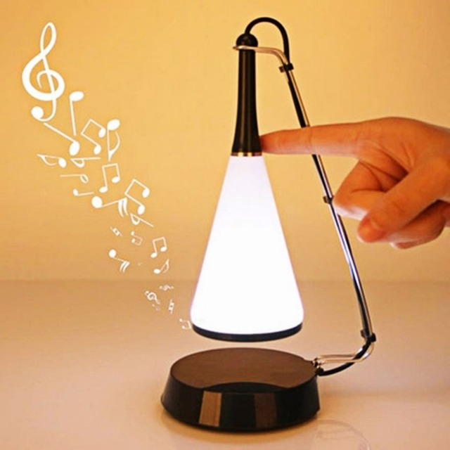 Nice SHS 1118 Multifunction Music Desk Light Bedroom Touch Sensor LED Table Lamp  Night Lamp With