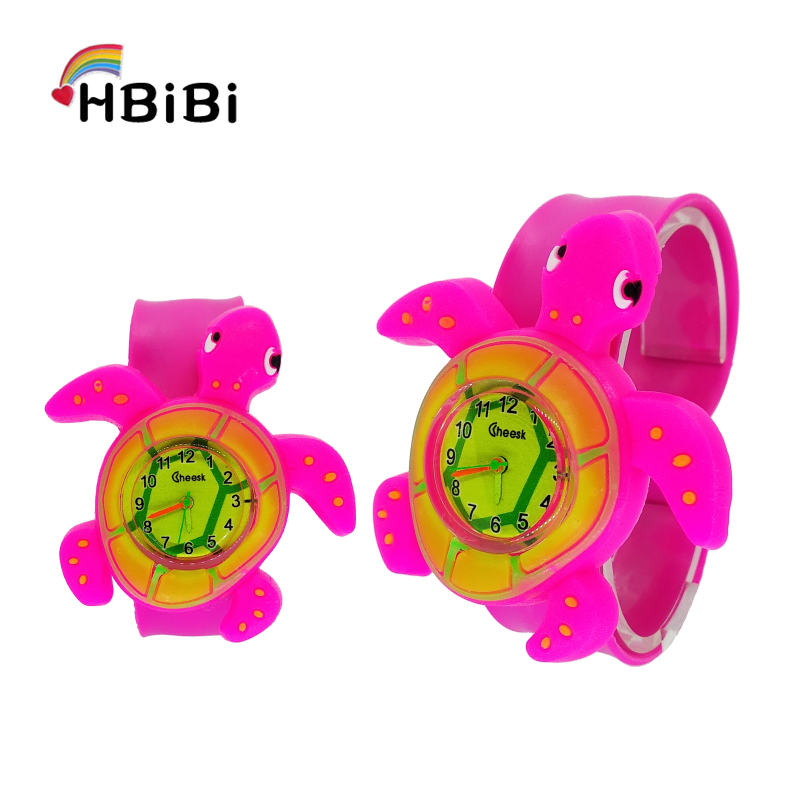 Anime Turtle Bracelet Children Watch For Kids Girls Boys Student Watches Fashion Casual Child Quartz Watch Baby Toy Gift Clock