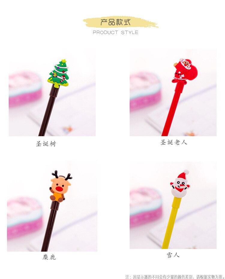 40 pçs caneta gel dos desenhos animados