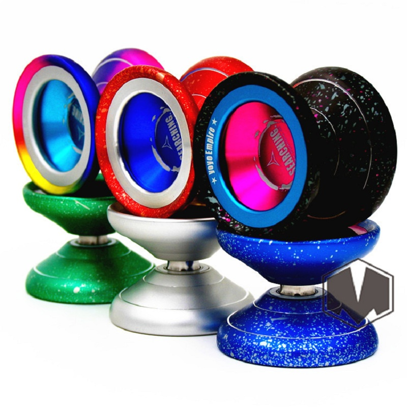 New Arrive YYE EMPIRE SEARCHING YOYO acid washing Colorful yo-yo metal Yoyo for Professional yo-yo player Classic Toys beboo yoyo professional yoyo ball yo yo set kk bearing yo yo metal yoyo classic toys diabolo magic gift for children n11