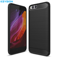 For Xiaomi Redmi Note 3 Note 3 Pro Mobile Phone Bag Carbon Fibre Brushed TPU Phone
