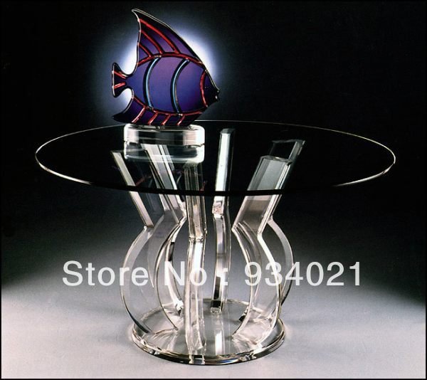 Acrylic Coffee crystal Table furniture Dining Table / Clear able Base lectern pulpit podium furniture hardware hinge folded coffee table mechanism b07