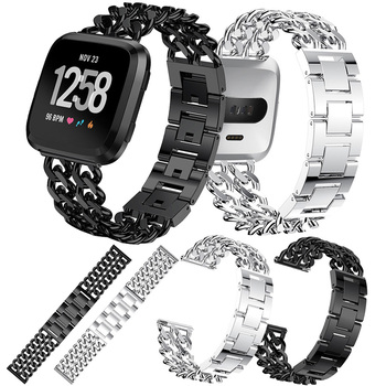 Metal Strap for Fitbit Versa 2 Band Screwless Stainless Steel Watch Bracelet for Fitbit Versa Lite Replacement Wristband Accesso