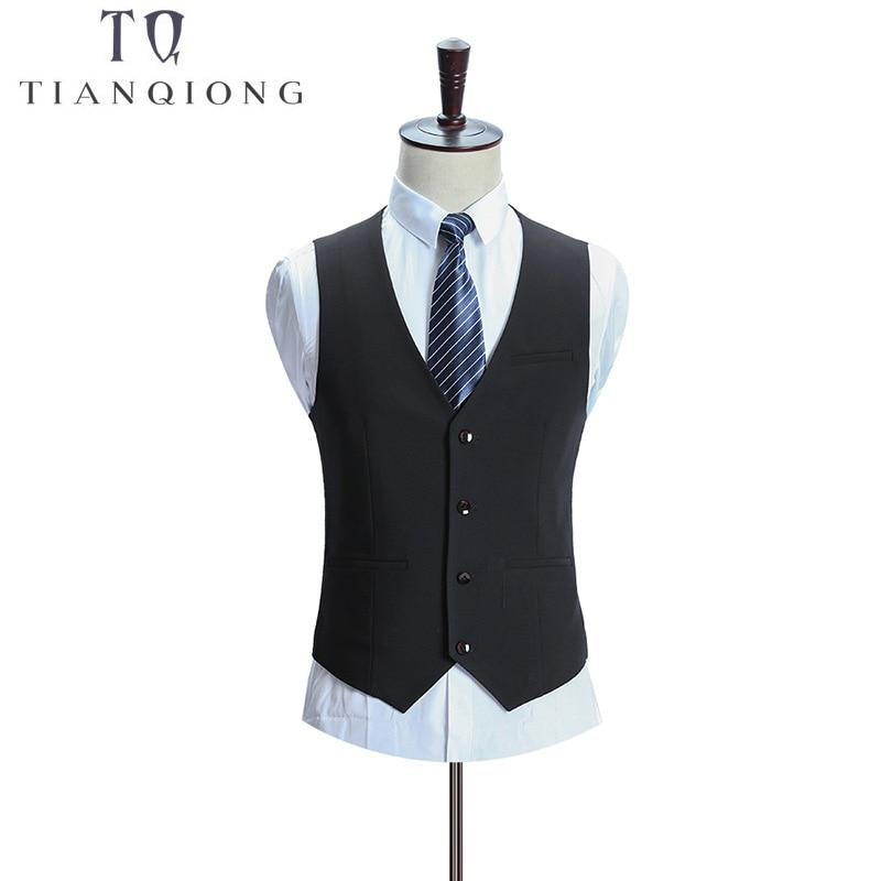Tian QIONG Burra Dasma për burra Kostume të hollë Fit 3 copë me - Veshje për meshkuj - Foto 3