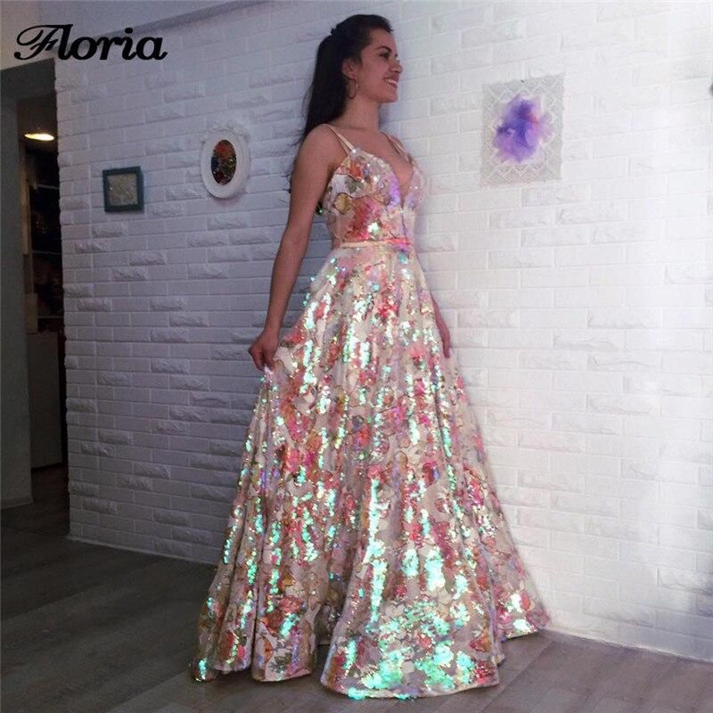 Multi Color Evening Dresses Dubai Turkish Arabic Aibye Beach Prom