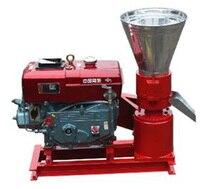 Electric Start Diesel Engine KL120A Pellet Mill / Wood Pellet Machine