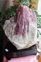 18.66 Lb RARE NATURAL pink RED tourmaline mineral specimens