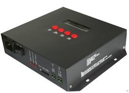 T-8000C SD card led pixel controller;AC85-265V input