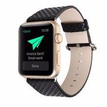 BD Espanson Relógio Faixa De Relógio de Couro para A Apple 38mm 42mm Cinta Estampas florais pulseiras de relógio Pulseira de Relógio de Pulso série 1 & 2 iwatch
