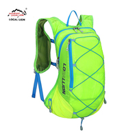 Local Lion Men Women outdoor sport Backpack Bag 15 L Waterproof Hiking Trail Running Travel Bags Rucksack