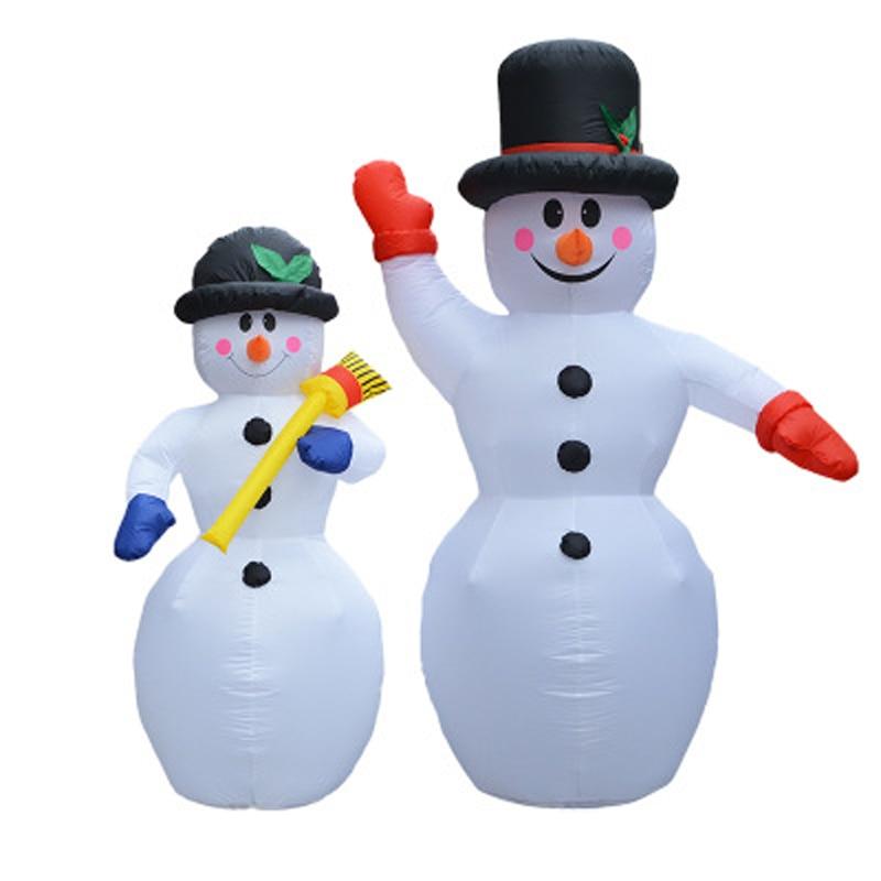 Aufblasbare Weihnachtsmann Weihnachtsdekoration Für Hotels Abendessen Markt Aufblasbare Schneemann Blow Up Weihnachten Ornamente Neues Jahr dekor
