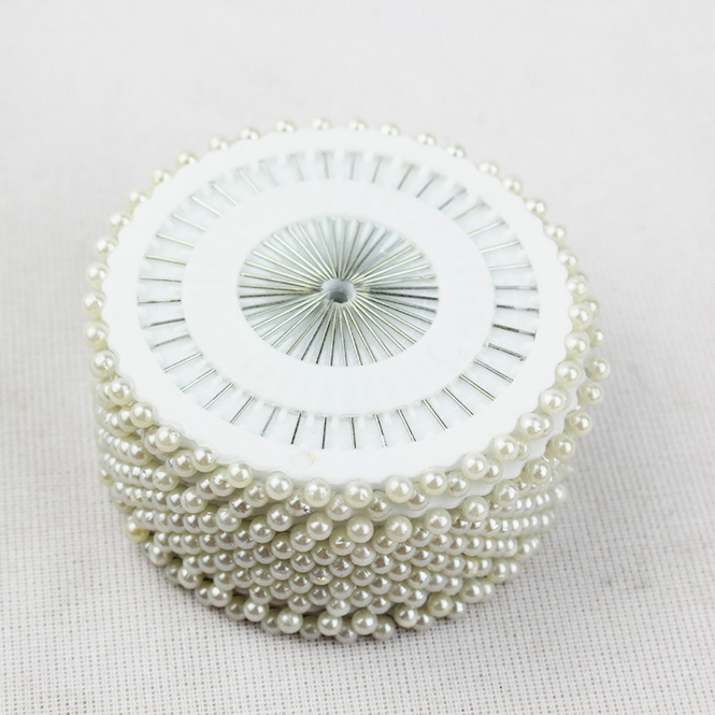 Sewing Tool 480ps Multi Round Pearl Head Dressmaking Pins Weddings Corsage Florists Mini Ball Handmade Crafts Accessory