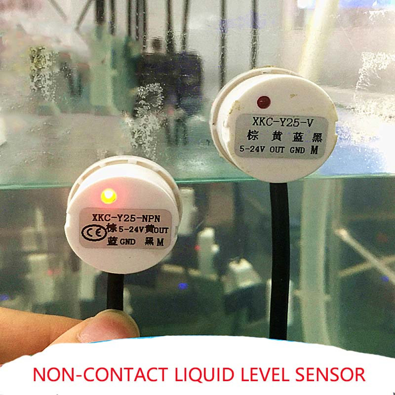 Liquid Level Sensor Detector  Non-Contact Stick Type Water Detector Switch DC Detection Tools For Airtight Container RS485Output