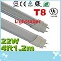 Certification + T8 22W 4ft 1.2m Led Tubes Lights 96Leds SMD 2835 High Bright Cold/Natrual/Warm White AC 110-240V