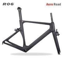 2018 Miracle 700c Aero Carbon road frame BB86 700c Carbon bike frame Customized painting Cadre BICICLETAS Racing bike frame