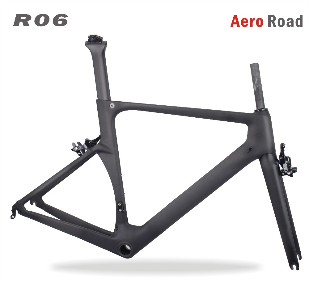 2018 Miracle 700c Aero Carbon Road Frame BB86 700c Carbon Bike Frame Customized Painting Cadre BICICLETAS Racing Bike Frame