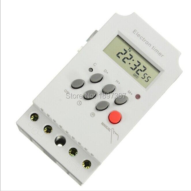 2019 Mode 10 Stücke Kg316t-ii Dc/ac12v Din-schiene Digitale Programmierung Elektronische Timer Zeitschaltuhr Klar Und GroßArtig In Der Art Messung Und Analyse Instrumente Werkzeuge