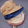 Лето лук сетки шляпа Пляж шляпа Открытый козырек от солнца шляпа