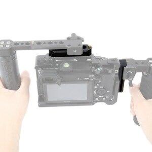 "Image 5 - NICEYRIG NATO Schiene NATO Clamp Rutsche Schiene Rig Nato Griff Schiene Grip Rig DSLR Kamera Cage Clamp Rig 1/4"" stabilisator Kameras 70mm"
