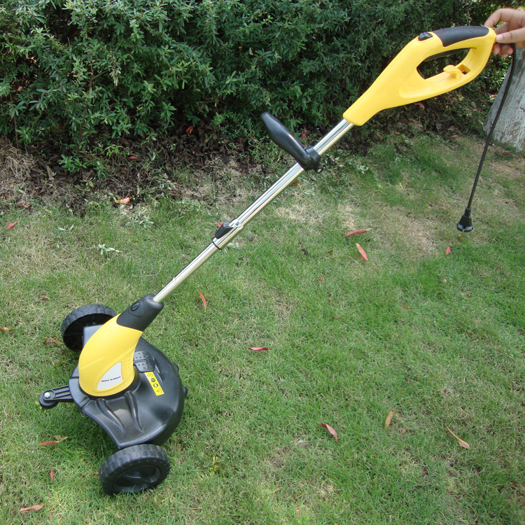 Free shpping Household 450w fully automatic electric mower lawn mower with wheels weeding machine grass cutting machine