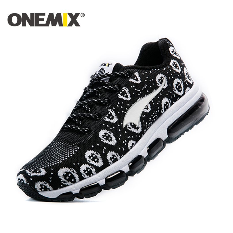 ФОТО ONEMIX autumn winter Men's running shoes man or women shoes comfortable walking shoes portable adult sport shoes  free shipping