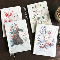 Creative stationery A5 nude Edition notebook Just want to tell you series Hand book calendar Notepad for students school suppliy