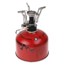 Free shipping Stainless Steel Electronic Strike Fire Ignitor Stove for Camping Picnic Cookout Burner