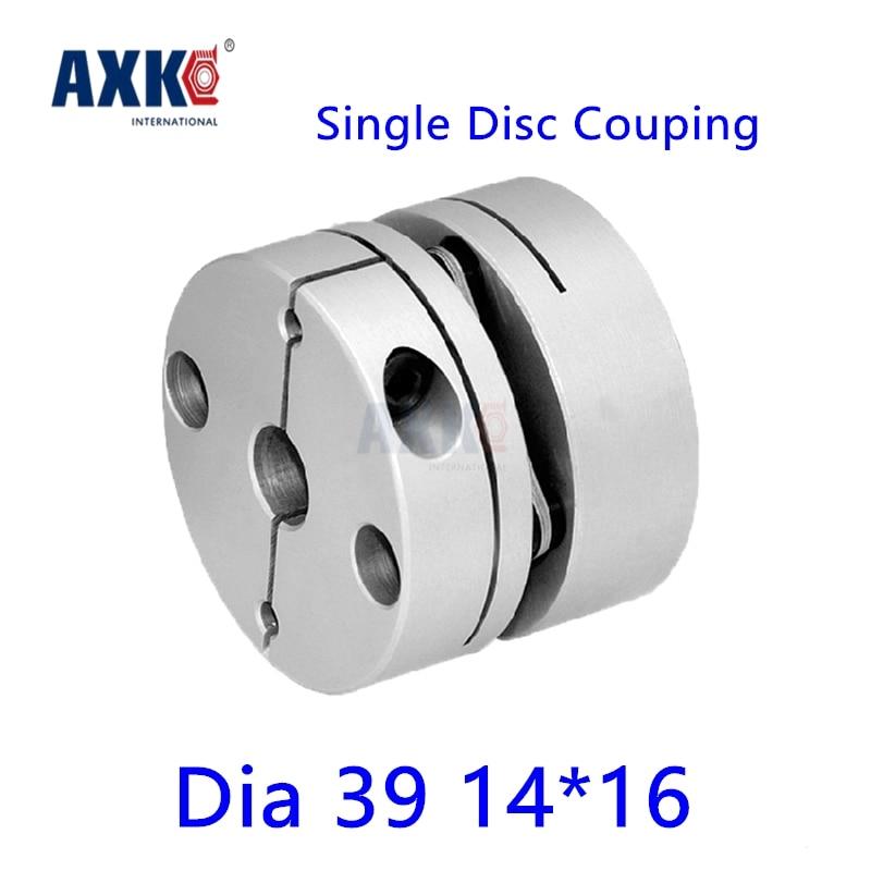 2017 Bearing Axk New Dia. 39mm 14mm To 16mm Aluminum Alloys Single Diaphragm Disk Coupling Disc Coupler For Servo Stepper Motor new flexible aluminum alloys single