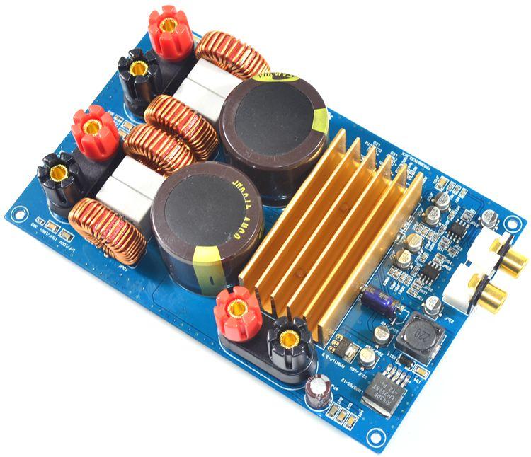Assemblage TPA3255 carte amplificateur de puissance numérique 300 W + 300 W ampli Audio HiFi stéréo