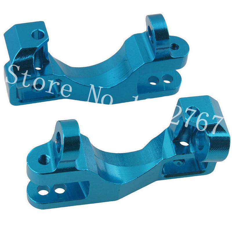 US $11 2 |1/10 Traxxas Slash 4x4 Aluminum Left and Right Front Caster  Blocks C Hubs 6832X SLA003 Upgrade OP Parts RC Stampede LCG/RALLY-in Parts  &