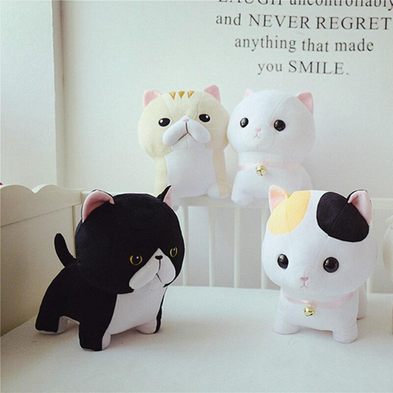 Doub K 5 pcs/lot kawaii chat en peluche jouet 30 cm 40 cm doux peluche poupées Simulation animaux en peluche jouets enfants oreiller cadeau créatif - 2