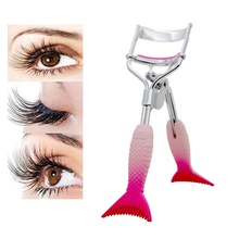 1PC Fish tail shape Eyelash Curler Professional High Quality Eye Lashes Curling Beauty Makeup Tool